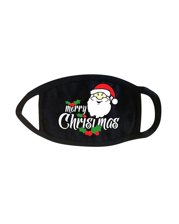 5PCS/Set Randomly Dispatched Christmas Print Breathable Face Mask(Patterns Sent Randomly)