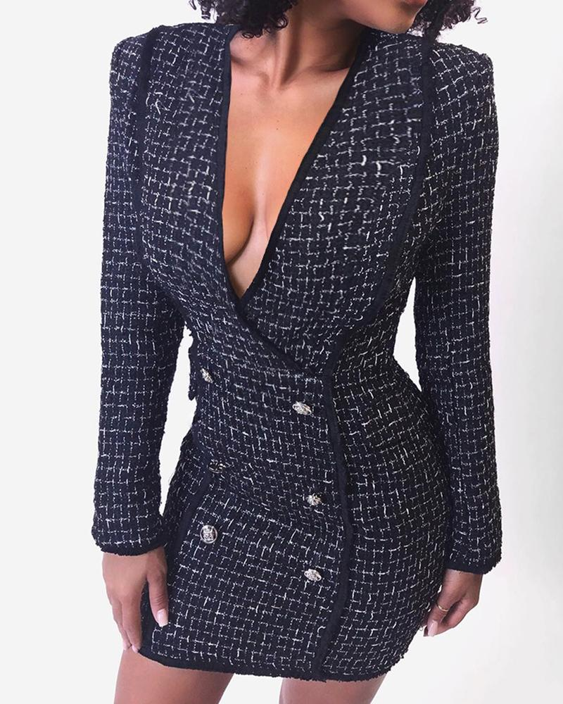 Rove Double Breasted Blazer Dress