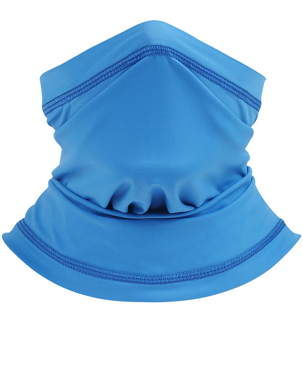 Solid Summer Neck Gaiter Face Cover Headwear Bandana