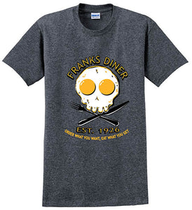 Franks Diner Fried Egg Unisex Tee   G500