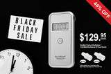 Black Friday Deal: AlcoMate Premium Professional Breathalyzer Basic Kit and AlcoMate Standard Mouthpieces bundle deal