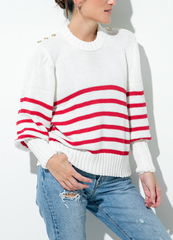 RED SAILOR SWEATER