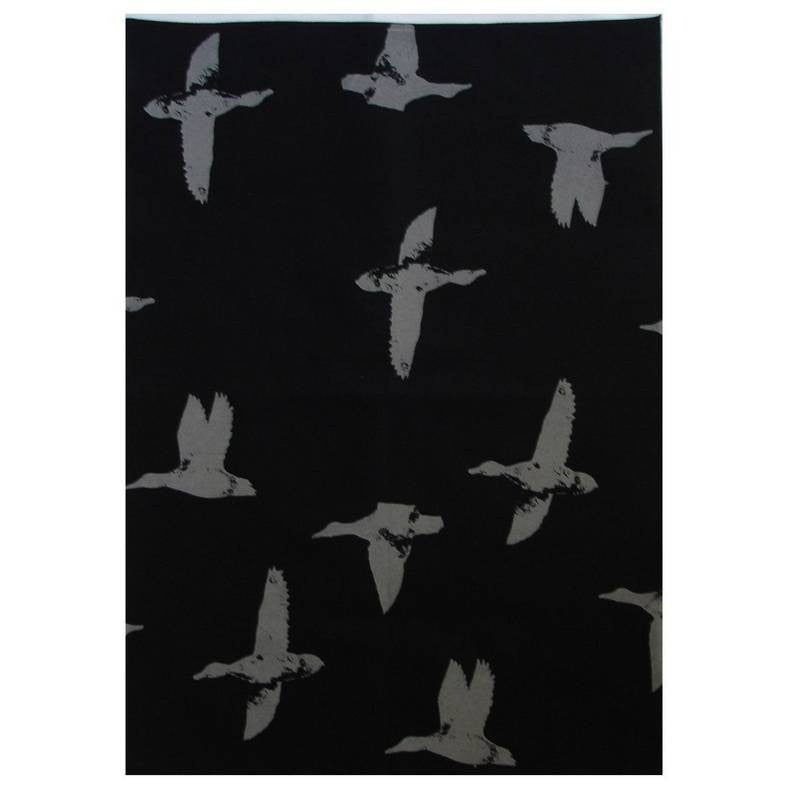 Linen Teatowel - Crown and Feathers
