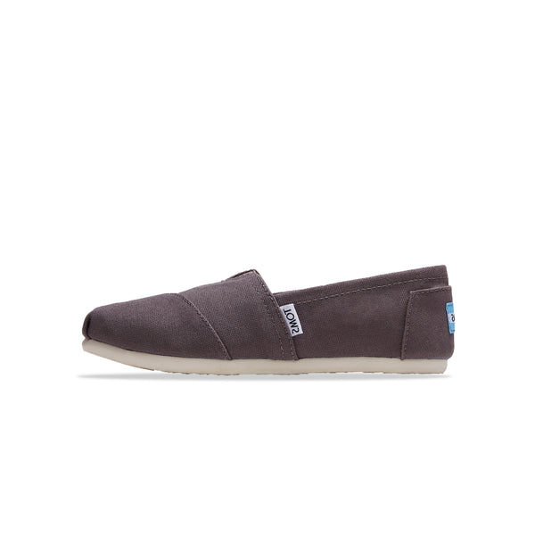 Toms Womens Canvas Ash Grey Classic Shoes