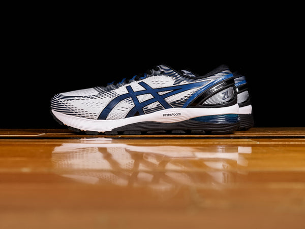 Men's Asics GEL-NIMBUS 21 [1011A172-100]