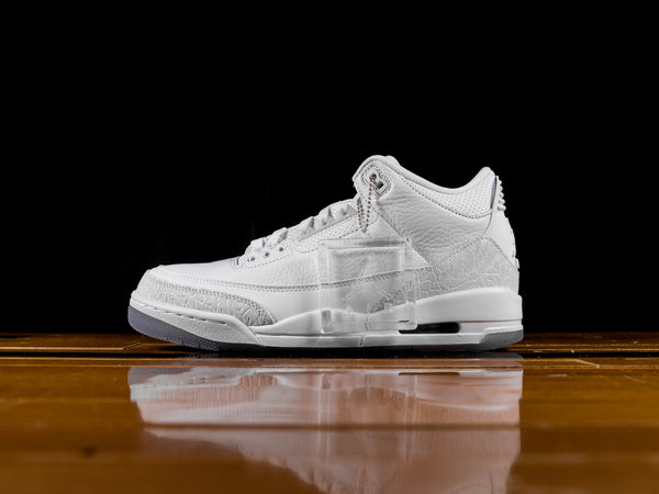 Men's Air Jordan 3 Retro 'Triple White' [136064-111]