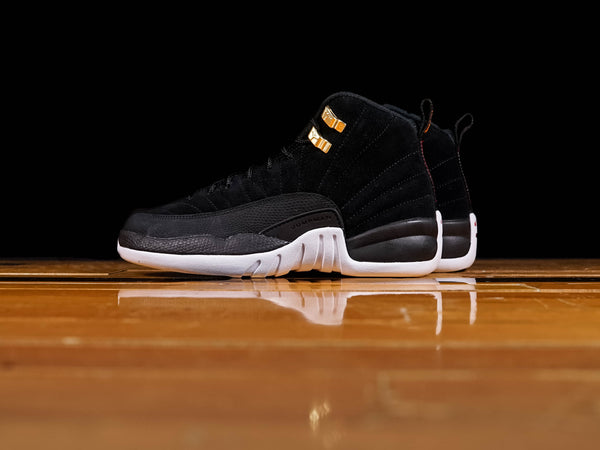 Kid's Air Jordan 12 Retro GS 'Reverse Taxi' [153265-017]