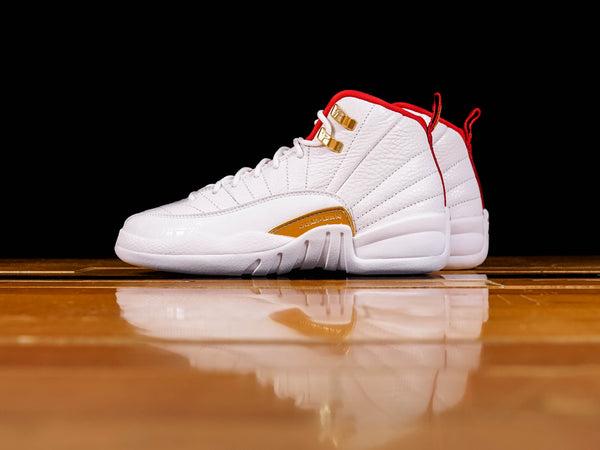 Kid's Air Jordan 12 Retro GS 'FIBA' [153265-107]