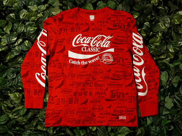 Men's Staple X Coca-Cola L/S Tee [1901C5194]