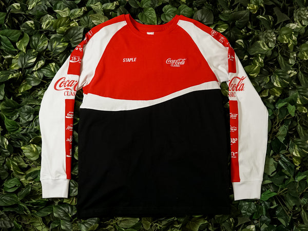 Men's Staple Coca Cola International LS Tee [1901C5198]