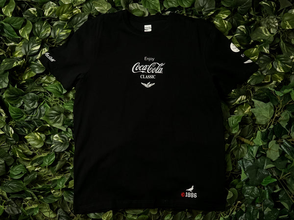 Men's Staple Coca Cola Catch The Wave Tee [1901C5456-BLK]