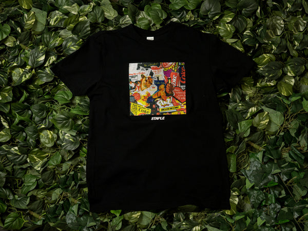 Men's Staple Coke Collage Tee [1902C5247]