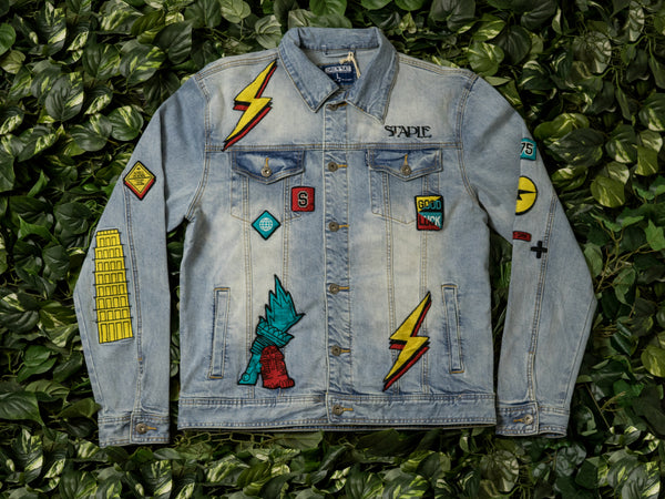 Men's Staple World Denim Jacket [1902O5324]