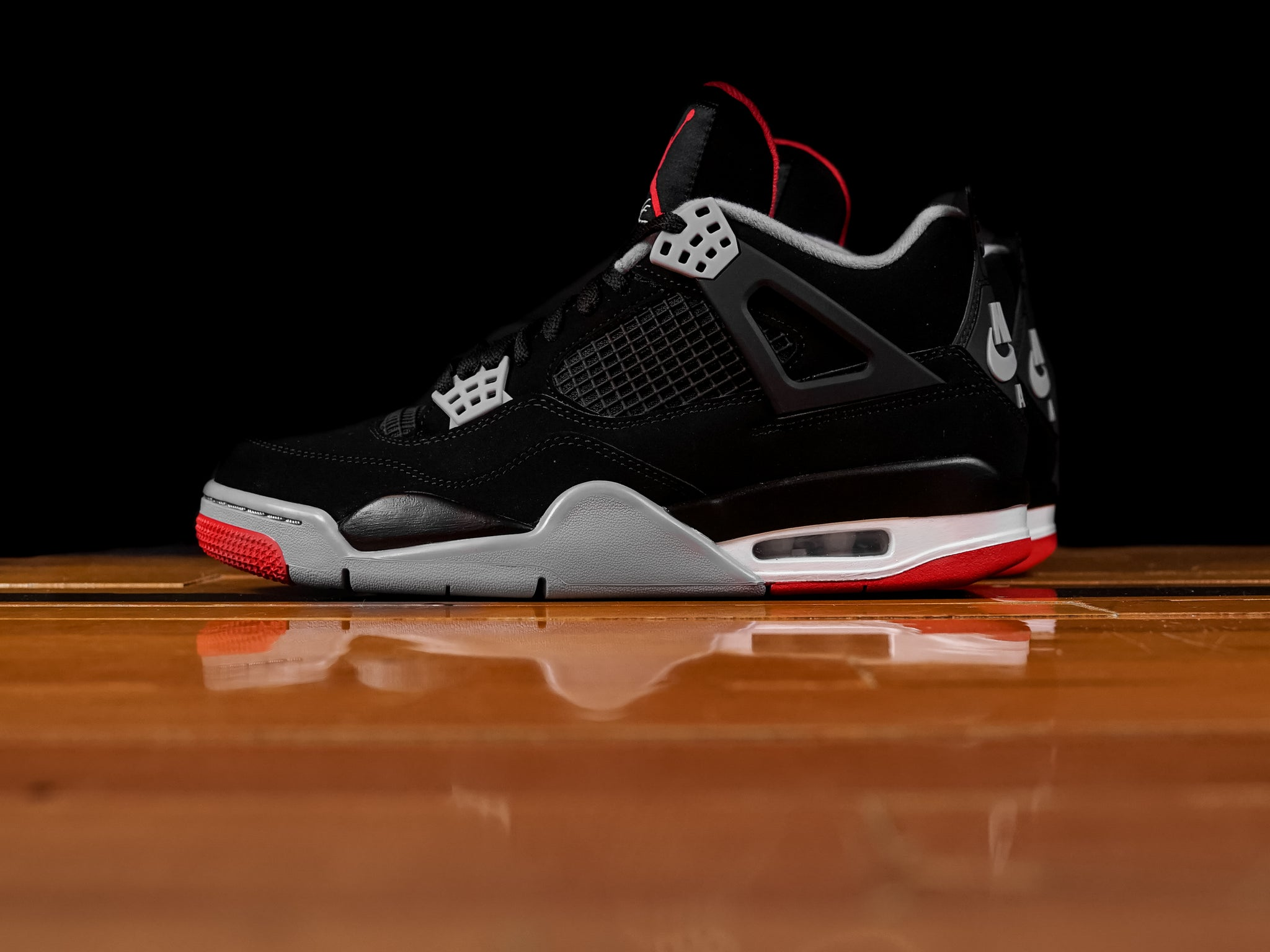 392f0fbb394 Men's Air Jordan Retro 4 'Bred' | 308497-060 | Renarts