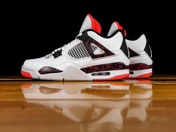 Men's Air Jordan 4 Retro 'Bright Crimson' [308497-116]