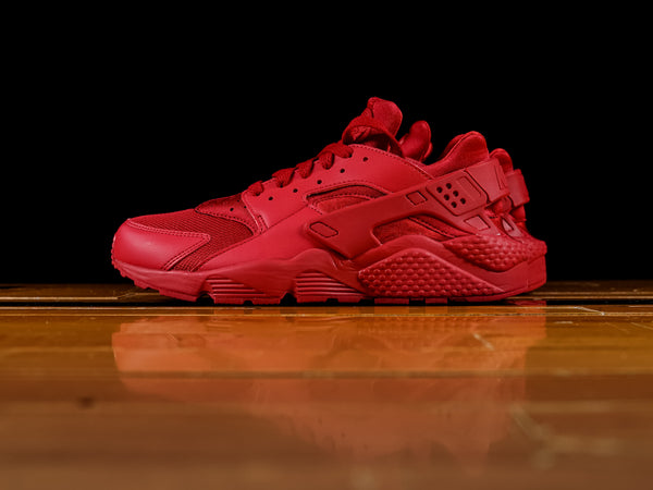 Men's Nike Air Huarache 'Triple Red' [318429-660]