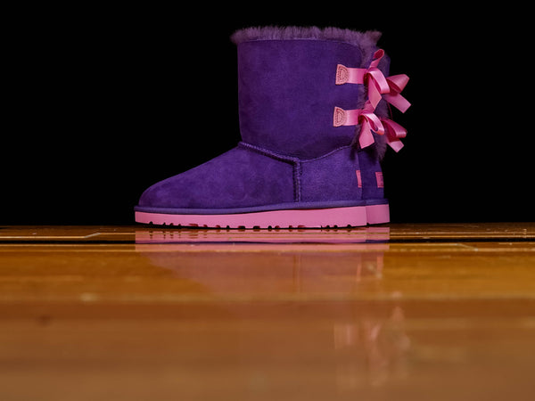 Kids' UGG Bailey Bow [3280KK-PRLG]