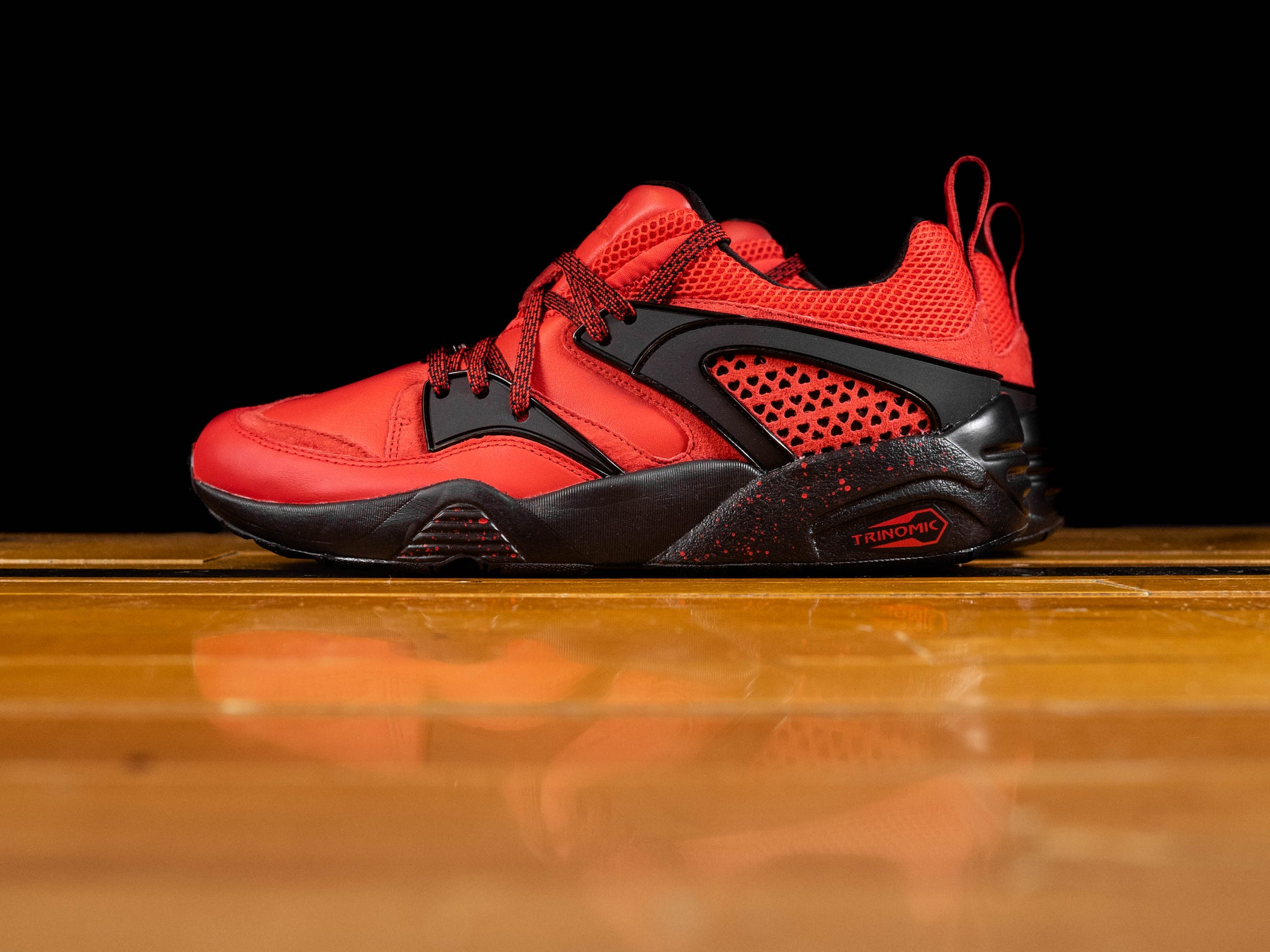info pour 3d40c d11a8 Men's Rise X Puma Blaze Of Glory 'New York Is For Lovers' [360999-01]