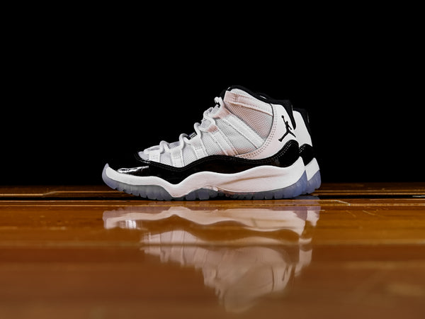 "Kid's Air Jordan 11 Retro PS ""Concord"" [378039-100]"