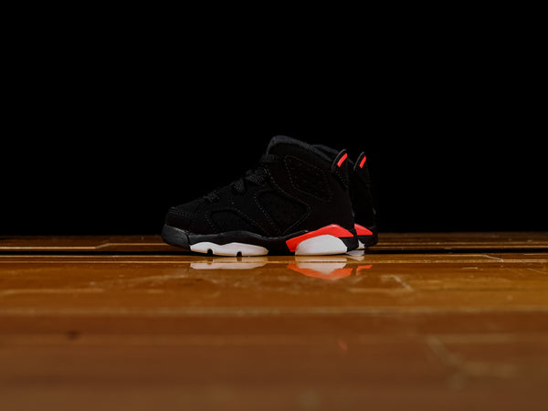 Kid's Air Jordan 6 Retro TD 'Infrared' [384667-060]