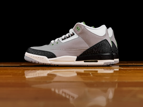 Kid's Air Jordan 3 Retro 'Chlorophyll' GS [398614-006]