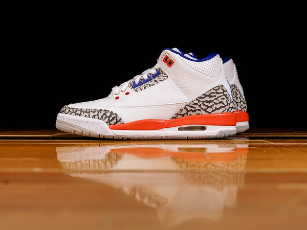 Kid's Air Jordan 3 Retro GS 'Knicks' [398614-148]