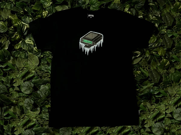 ICECREAM Pager S/S Tee [401-1207-BLK]