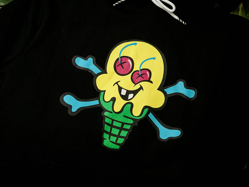 ICECREAM Lemonade Hoodie [401-1302-BLK]