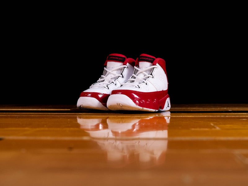 Kid's Air Jordan 9 Retro TD 'Gym Red' [401812-160]