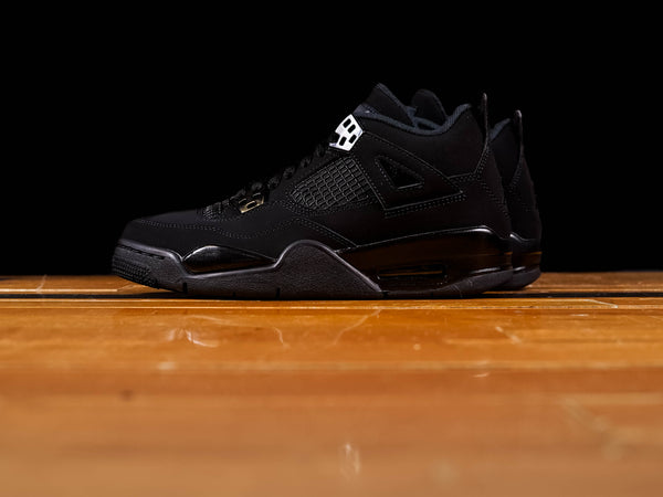 Kid's Air Jordan 4 Retro GS 'Black Cat' [408452-010]