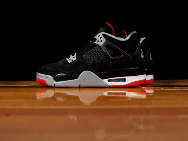 Kid's Air Jordan 4 Retro 'Bred' GS[408452-060]