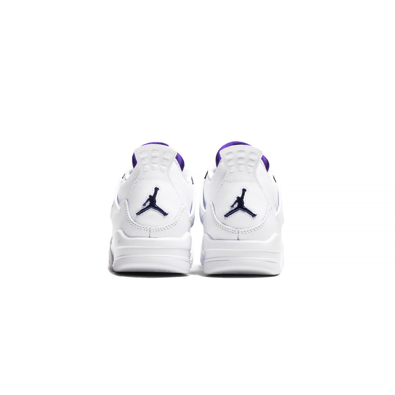 Kids Air Jordan 4  Retro GS 'Metallic Purple'