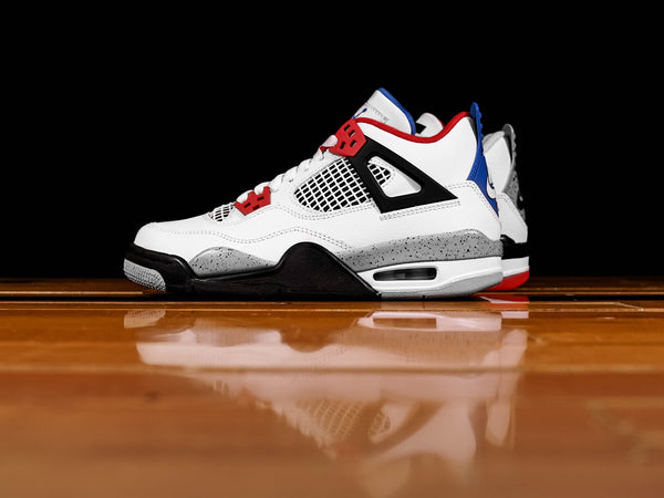 Kid's Air Jordan 4 Retro SE 'What The' [408452-146]