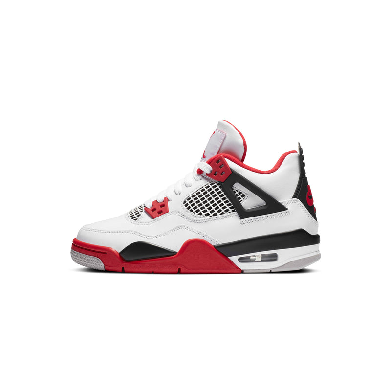 Air Jordan Kids 4 Retro 'Fire Red' GS Shoes