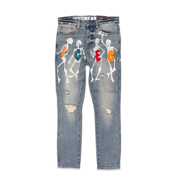 ICECREAM Mens The Dead Don't Dance Jeans
