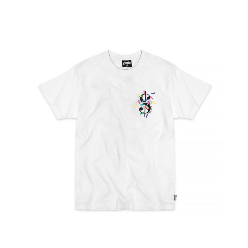 ICECREAM Mens Dollars and Cents Tee