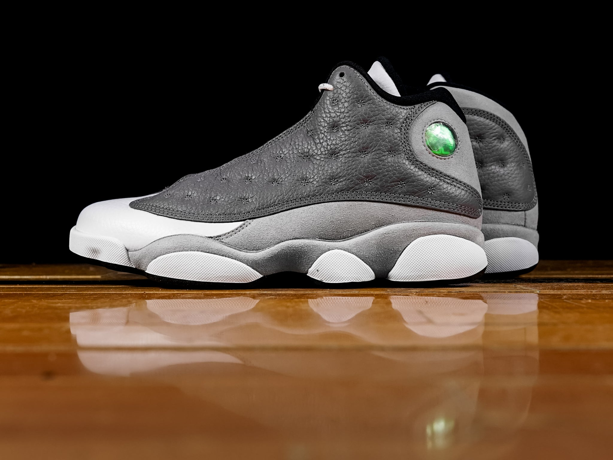 aa5b0bd1d00874 Men s Air Jordan Retro 13  Atmosphere Grey