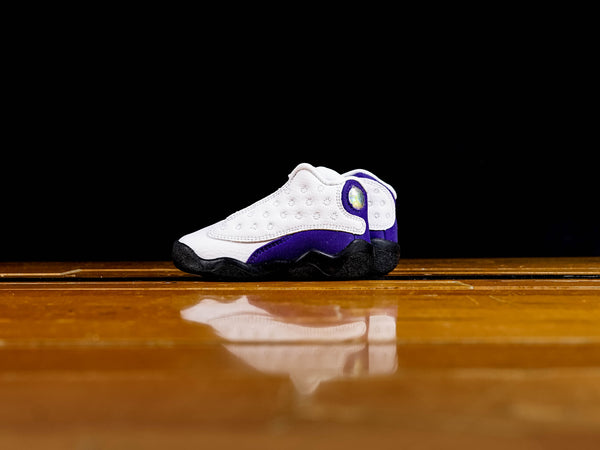 Kid's Air Jordan 13 Retro TD 'Lakers' [414581-105]