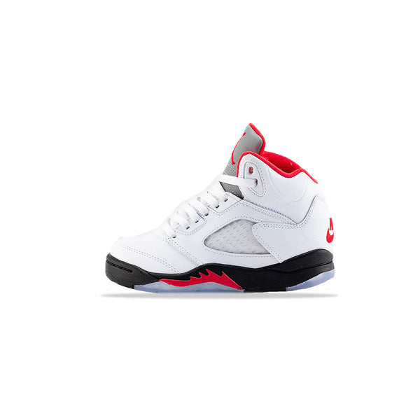 Kids Air Jordan 5 Retro PS 'Fire Red' [440889-102]