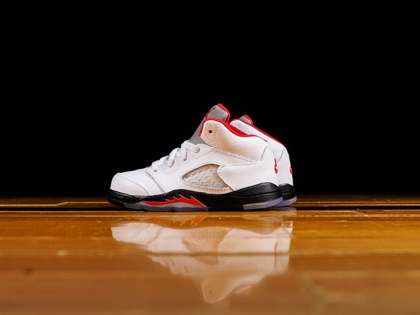 Toddlers Air Jordan 5 Retro TD 'Fire Red' [440890-102]
