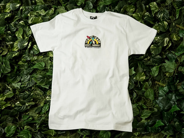 Men's ICECREAM MMIX SS Tee [481-8201-WHITE]