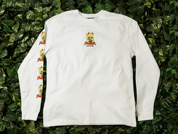 Men's ICECREAM Magic LS Tee [491-1202-WHT]