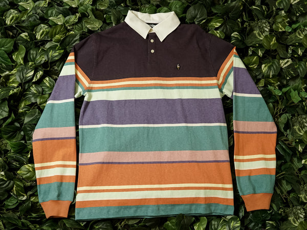 Men's ICECREAM Pop Long Sleeve Knit Shirt [491-1300-MULTI]