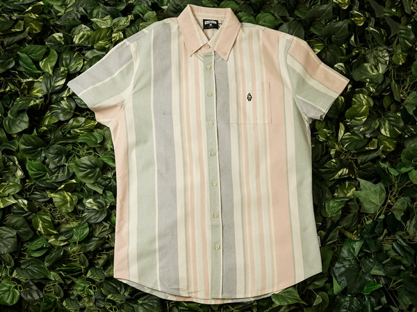 ICECREAM Neapolitan S/S Woven Shirt [491-1600-PINK]