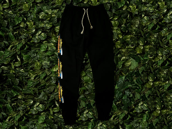 Men's ICECREAM 'Cherry' Sweatpants [491-2103-BLACK]