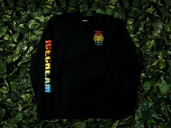 Men's ICECREAM Frosty LS Tee [491-2201-BLK]