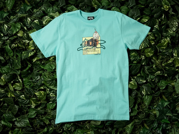 Men's ICECREAM Advertising SS Tee [491-2210-BLU]