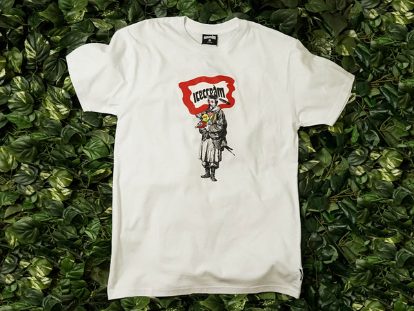 Men's ICECREAM Master S/S Tee [491-6200-WHT]