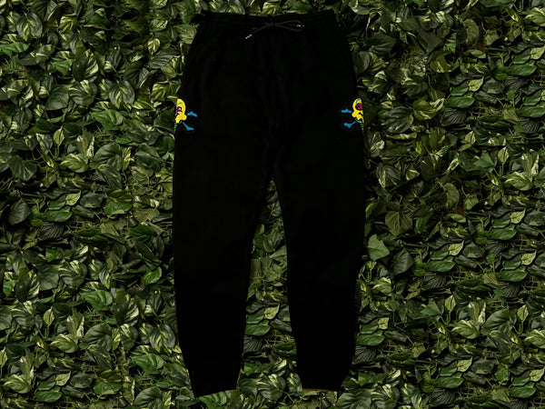 Men's ICECREAM Stacker Sweatpants [491-7101-BLK]