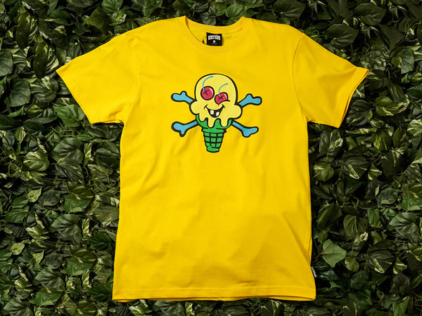 Men's ICECREAM Cones and Bones S/S Tee [491-7200-LEM]